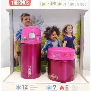 Thermos FUNtainer Lunch Set Bottle and Food Jar